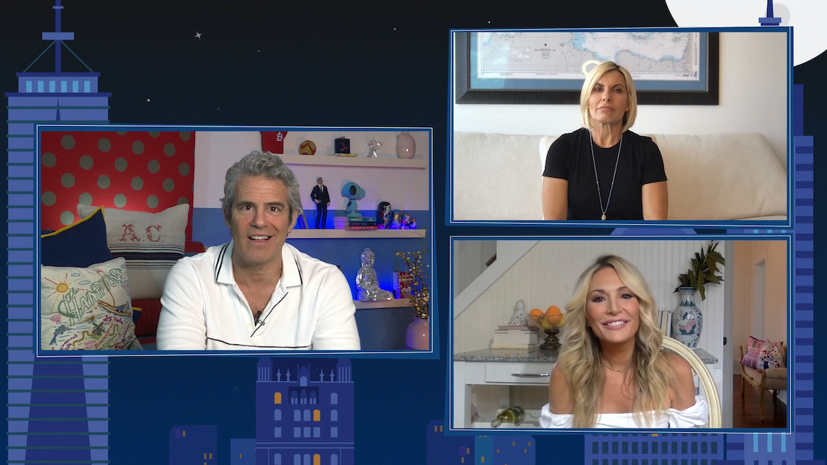 Andy Cohen, Captain Sandy Yawn, Kate Chastain