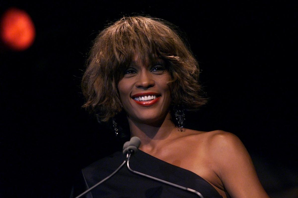 Whitney Houston at the 2001 Songwriters Hall of Fame Awards