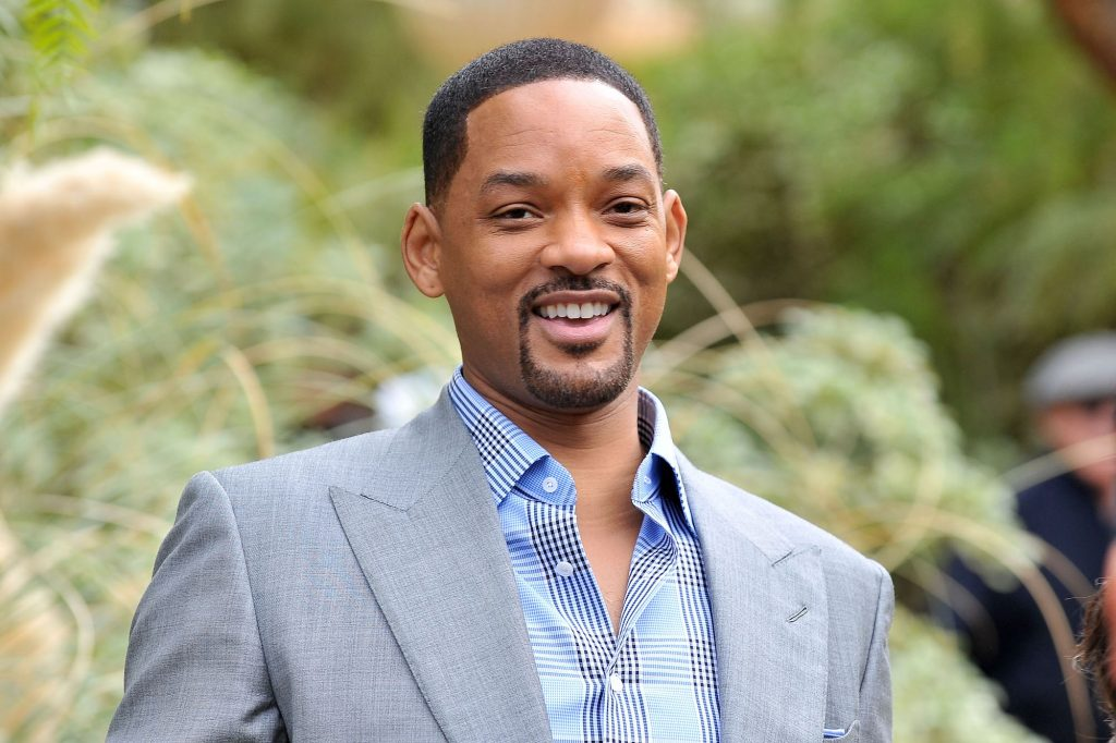 Will Smith smiling