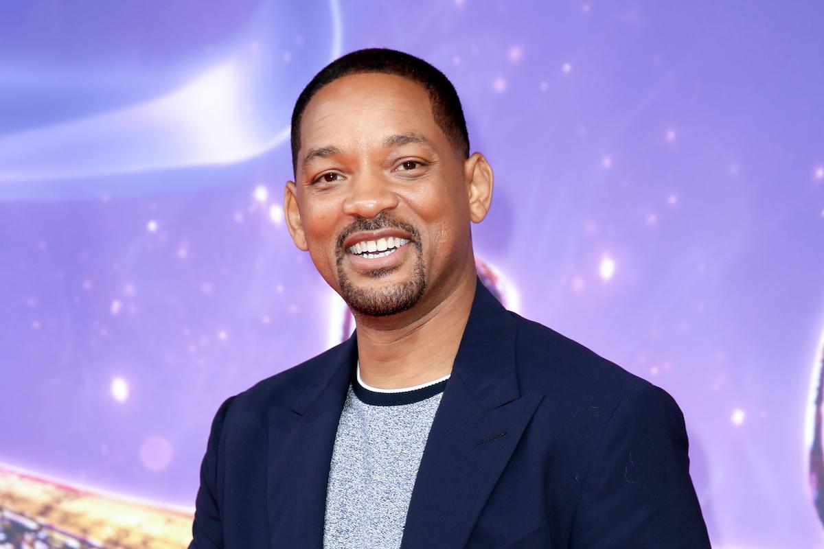 Will Smith at the 'Aladdin' premiere