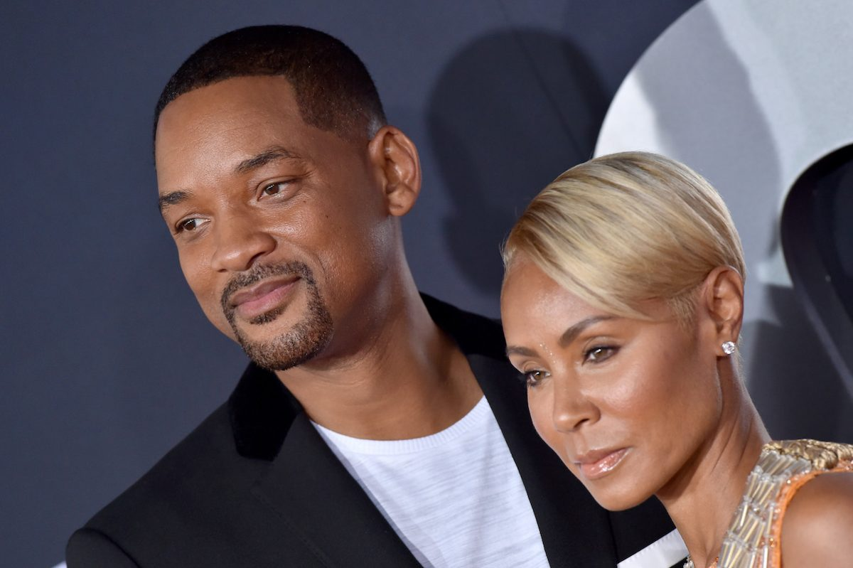 Will Smith and Jada Pinkett Smith at the premiere of 'Gemini Man'