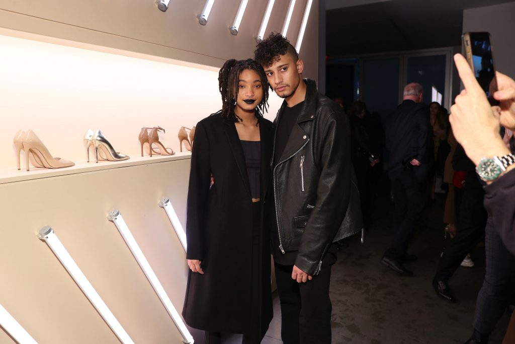 Willow Smith and Tyler Cole