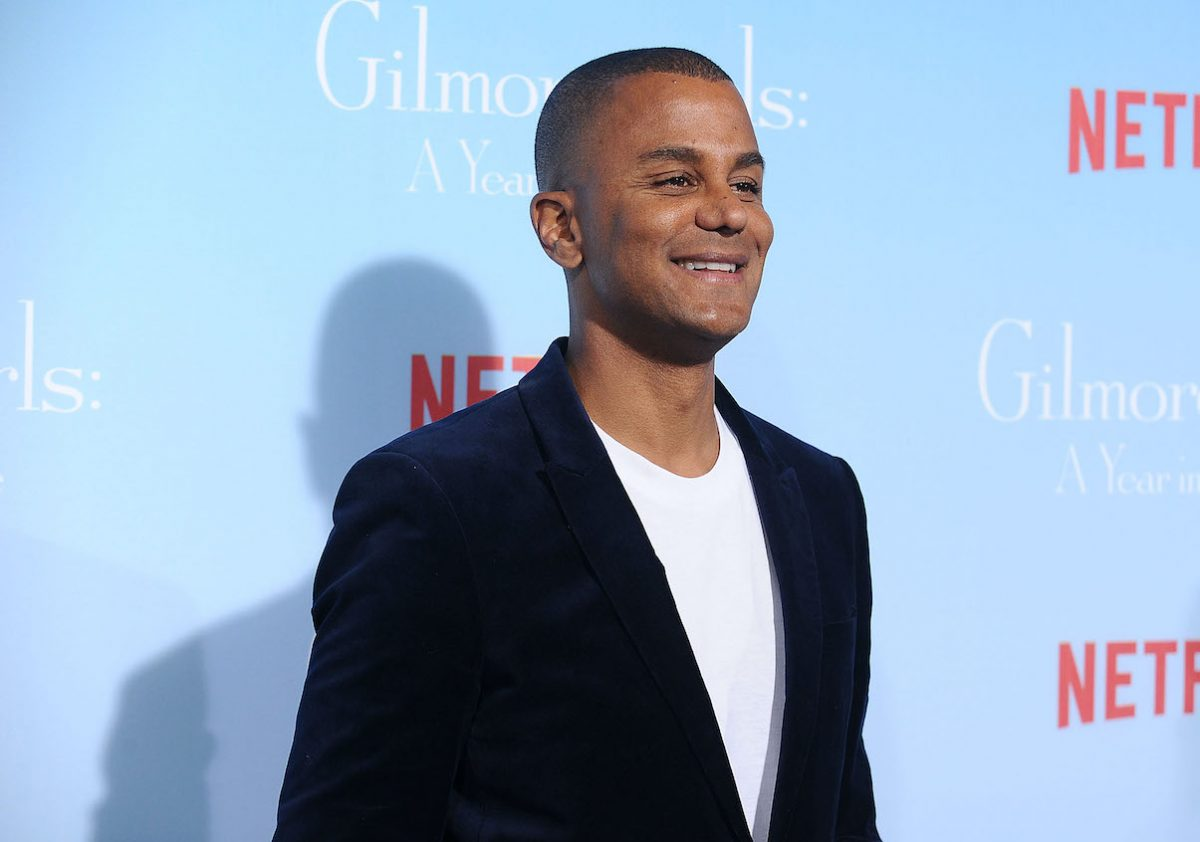 Yanic Truesdale at the premiere of 'Gilmore Girls: A Year in the Life'