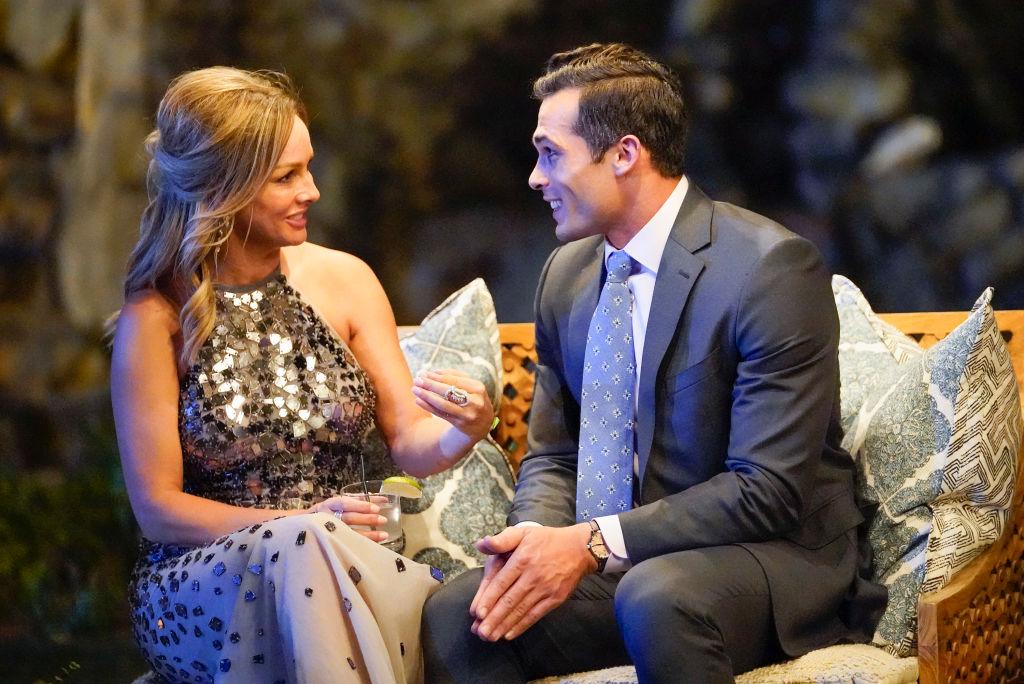 Clare Crawley and Yosef Aborady on The Bachelorette Season 16