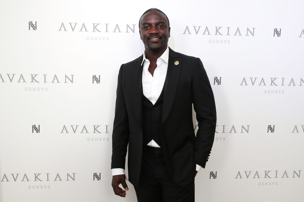 Akon in a suit