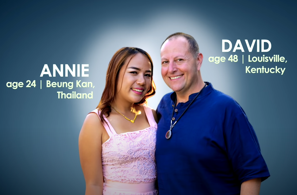 Annie Suwan and David Toborowsky of 90 Day Fiancé