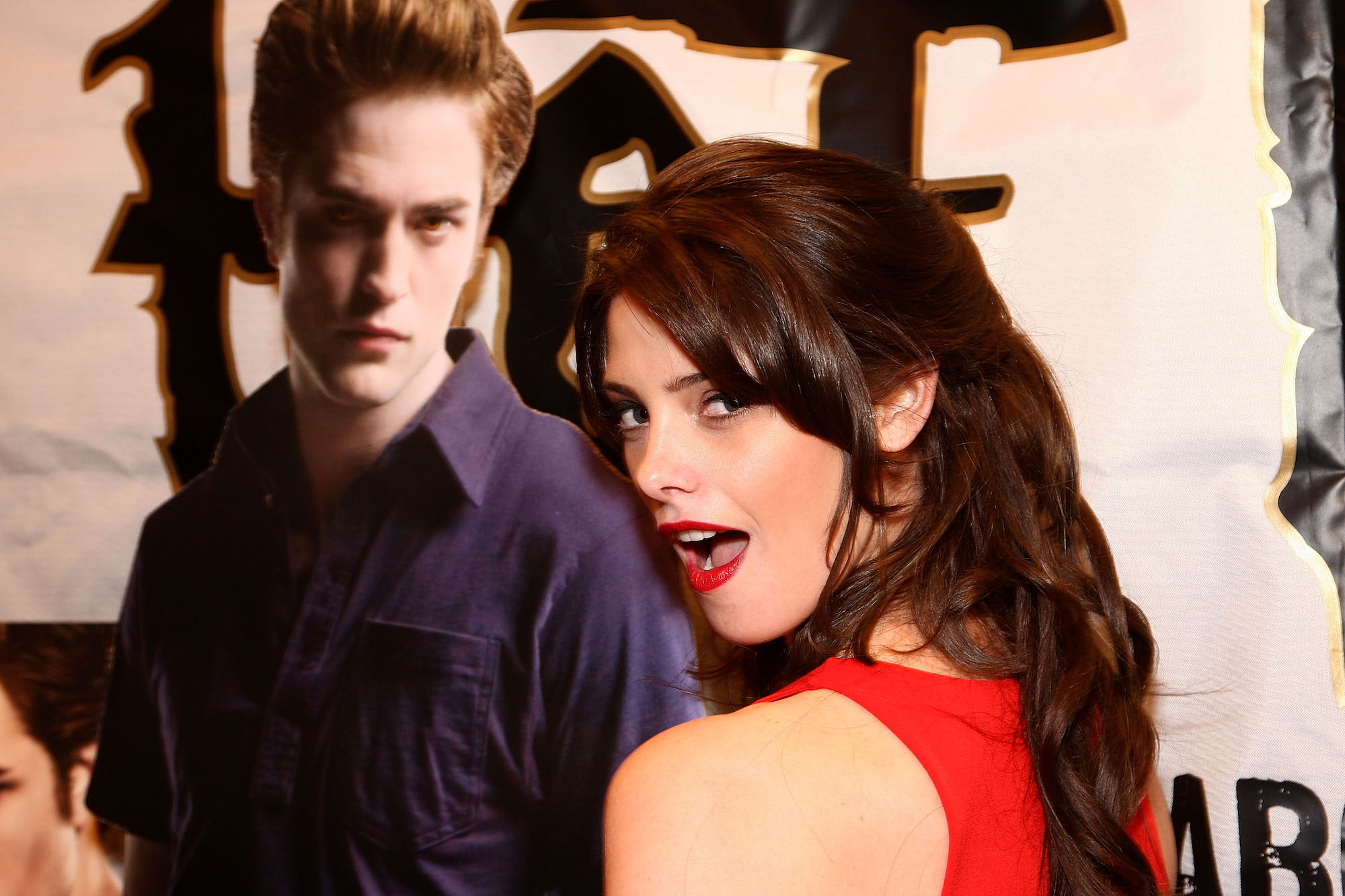 Ashley Greene at the 'Twilight' Midnight DVD launch at Hot Topic on March 20, 2009