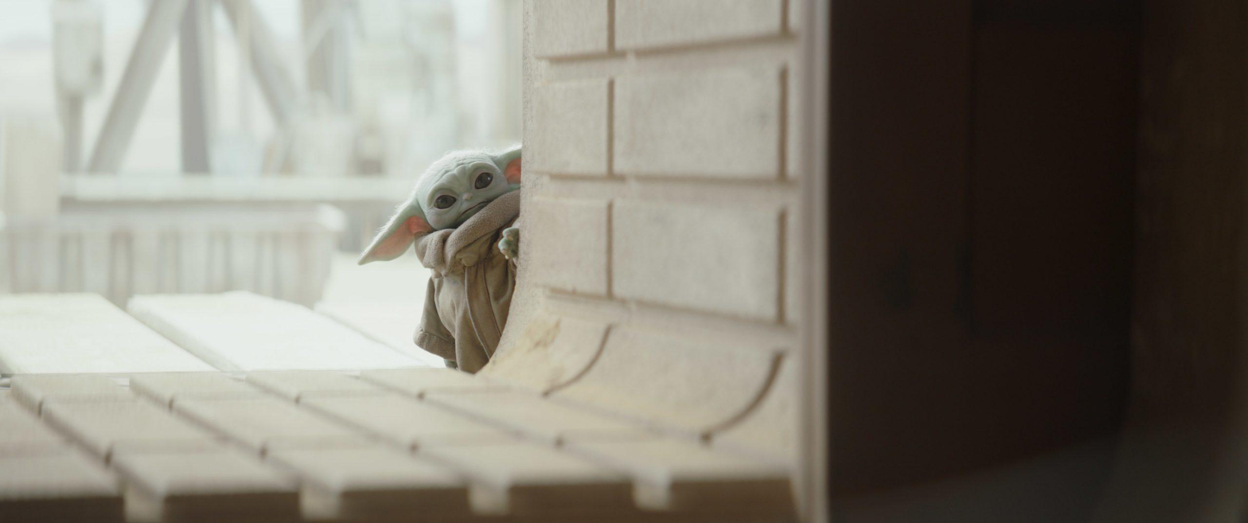 The Child, aka Baby Yoda, in Season 2 of 'The Mandalorian'