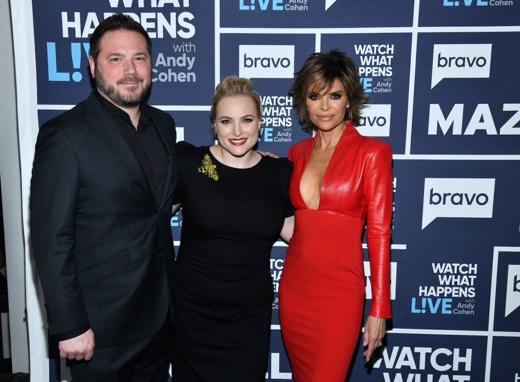 Ben Domenech, Meghan McCain, and Lisa Rinna on 'Watch What Happens Live'