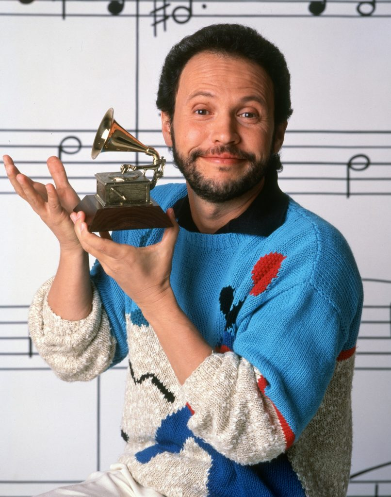 Billy Crystal as the host of The 29th Annual Grammy Awards
