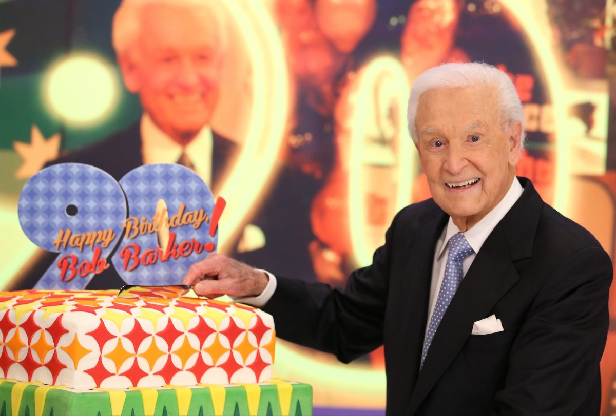 Bob Barker attends the set of 'The Price Is Right'