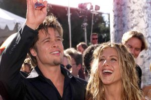 Jennifer Aniston Says She and Brad Pitt 'Had So Much Fun Falling in Love'