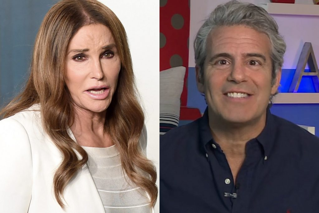 Caitlyn Jenner and Andy Cohen