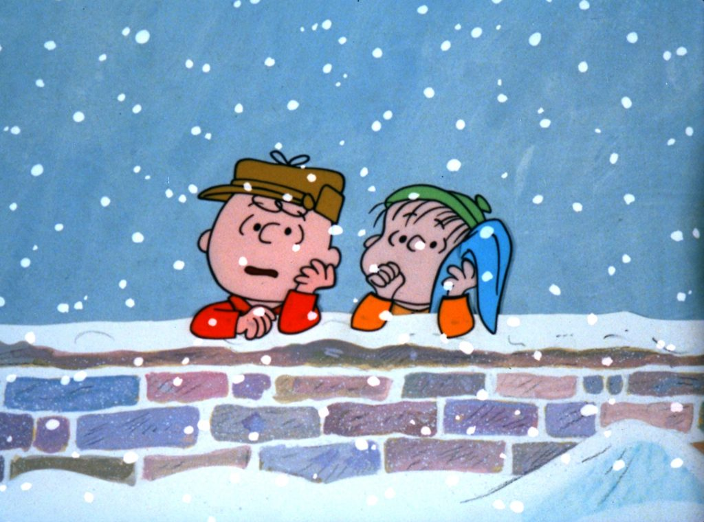 Charlie Brown and Linus in A Charlie Brown Christmas