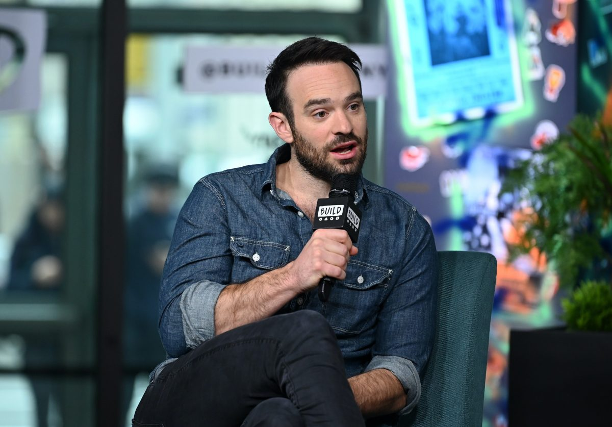 Charlie Cox visits Build Series