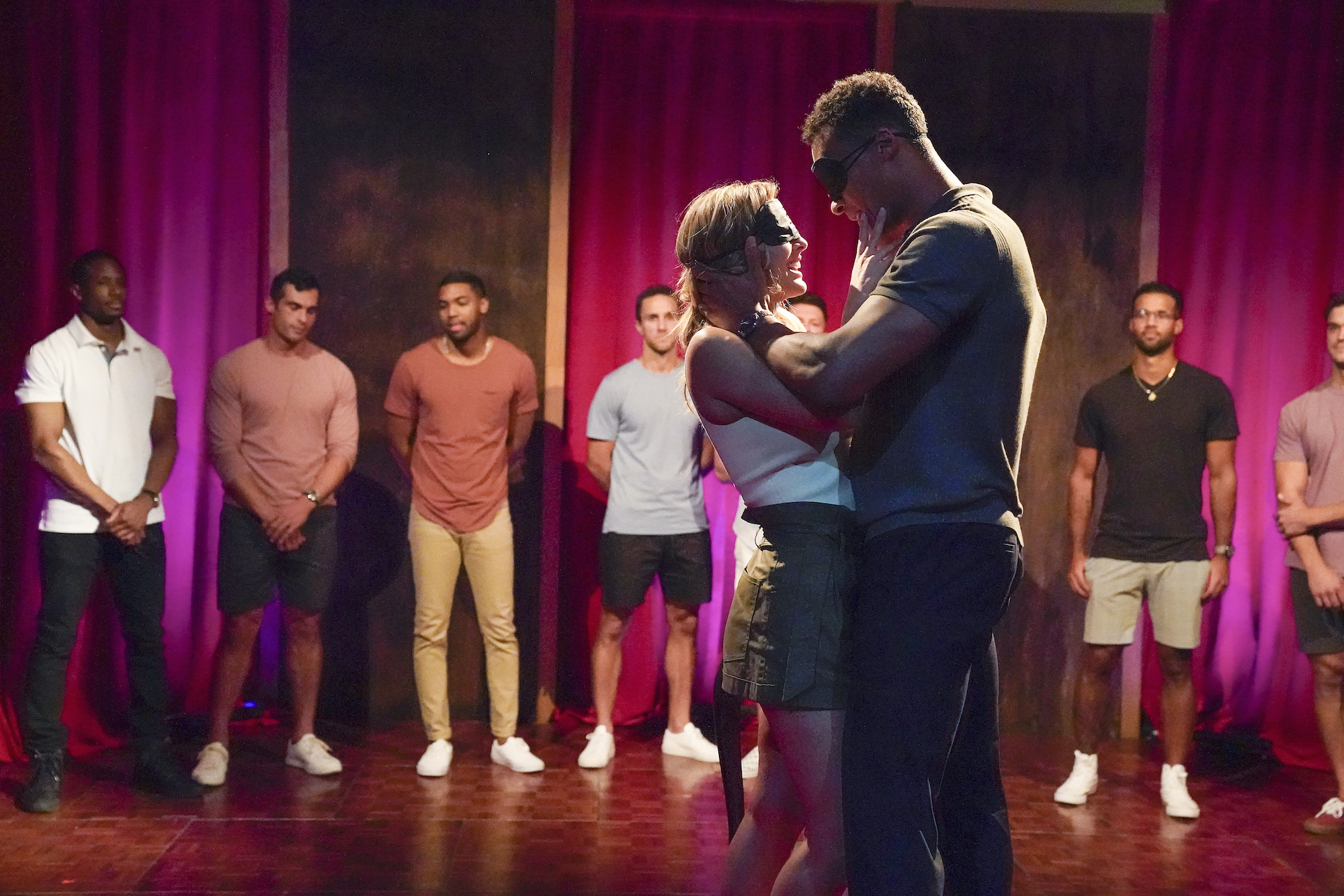 Clare Crawley and Dale Moss during Week 2's group date on 'THE BACHELORETTE'