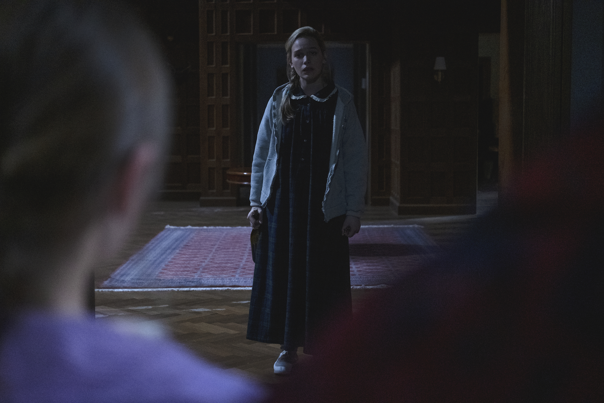 Victoria Pedretti as Dani in 'THE HAUNTING OF BLY MANOR.'