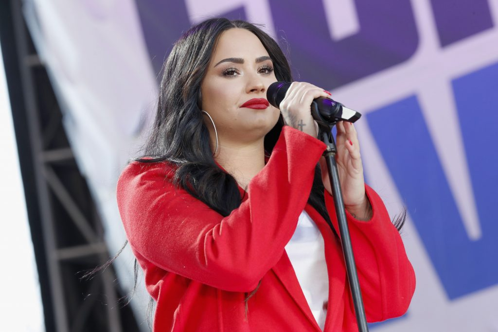 Demi Lovato performs onstage at March For Our Lives on March 24, 2018 in Washington, DC.