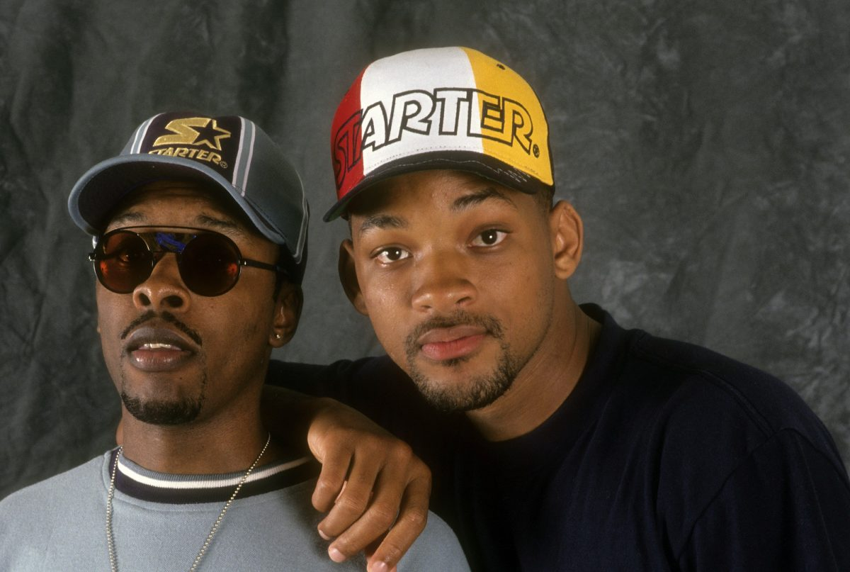 DJ Jazzy Jeff (aka Jeff Townes) And The Fresh Prince (aka Will Smith) on August 2, 1993 in New York City.