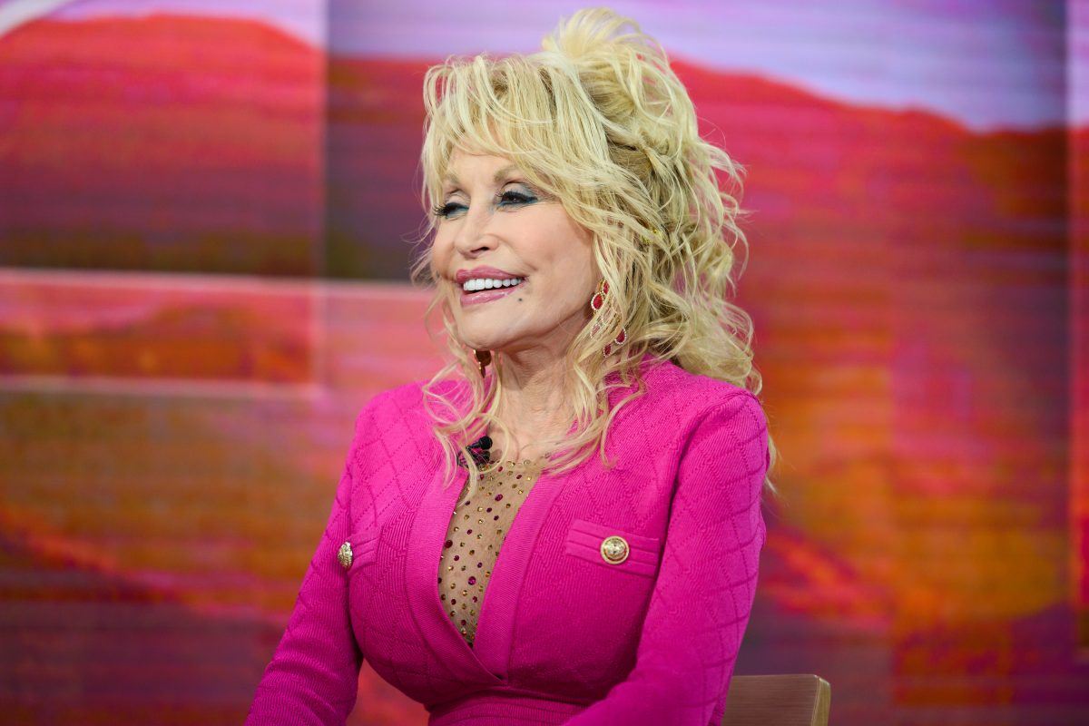 Dolly Parton on 'Today' Wednesday, November 20, 2019