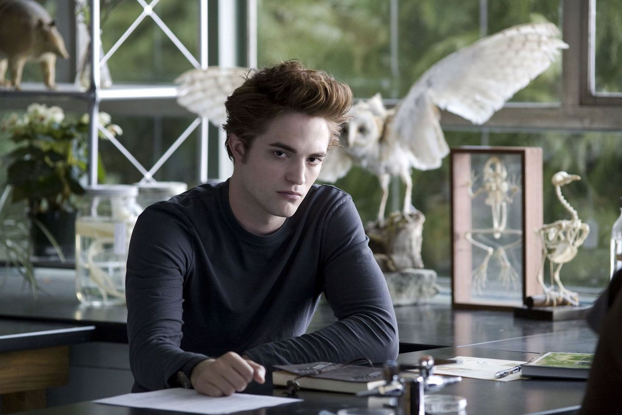 Edward Cullen (Robert Pattinson) in 'Twilight.'