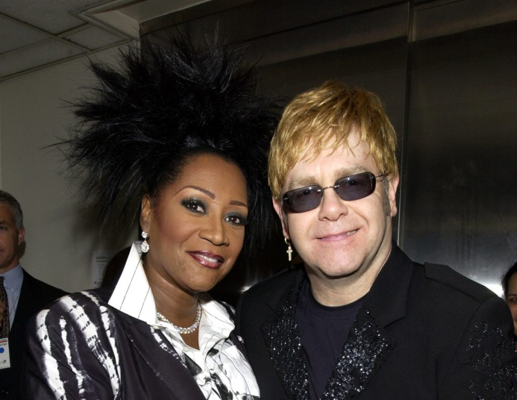 Patti LaBelle and Elton John