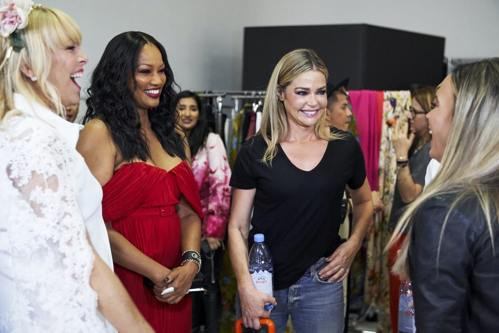 Garcelle Beauvais and Denise Richards