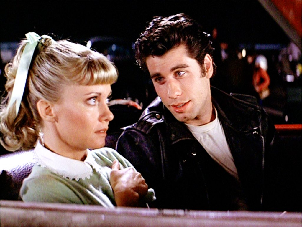 A scene from Grease