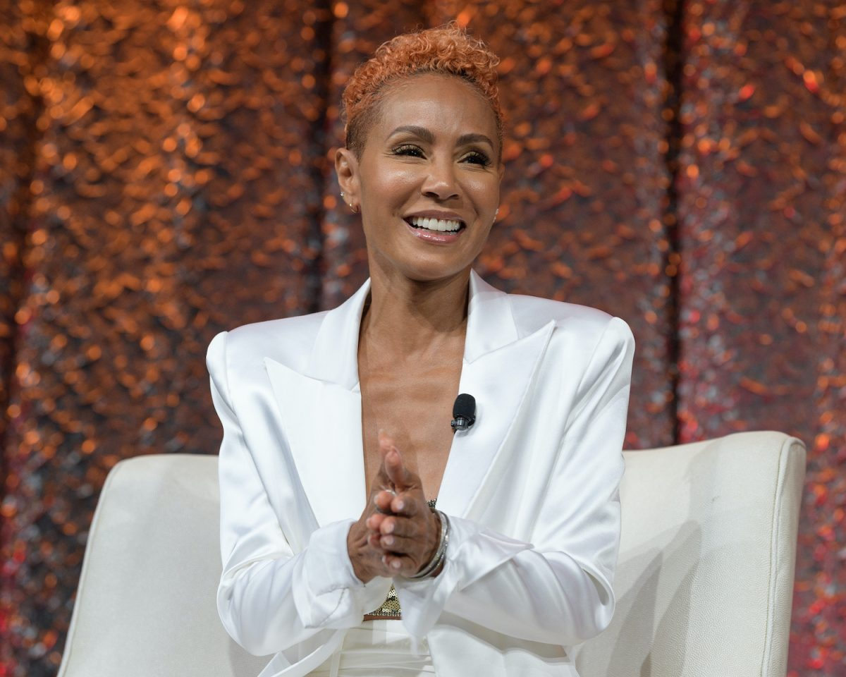 Jada Pinkett Smith at NATPE Miami 2020 at the Fountainebleau Hotel on January 22, 2020