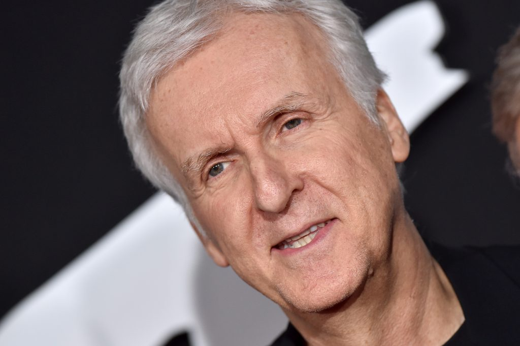 James Cameron attends the premiere of 20th Century Fox's 'Alita: Battle Angel' at Westwood Regency Theater on February 05, 2019 in Los Angeles, California.