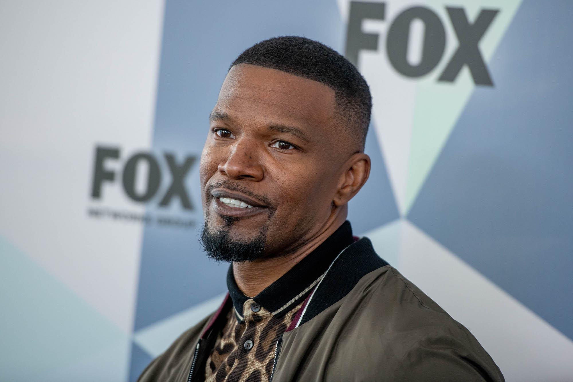 Jamie Foxx at the 2018 Fox Network Upfront at Wollman Rink, Central Park on May 14, 2018