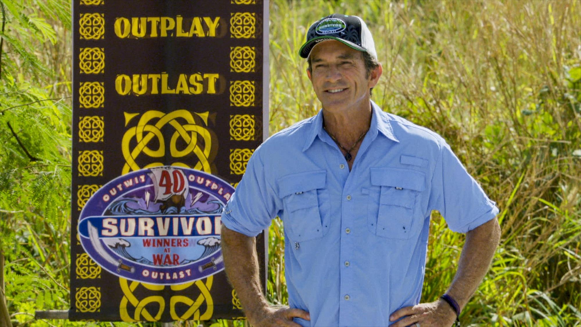 Survivor 41 host Jeff Probst