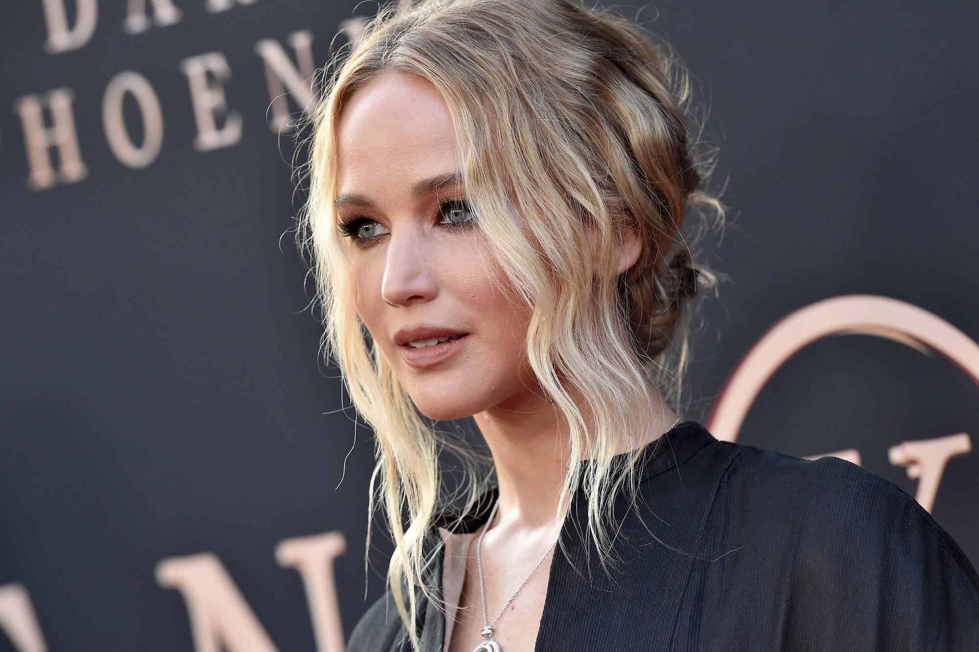Jennifer Lawrence at the premiere of 20th Century Fox's 'Dark Phoenix' on June 04, 2019.