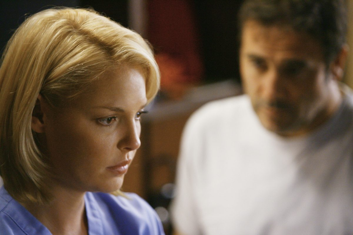 Katherine Heigl on Grey's Anatomy