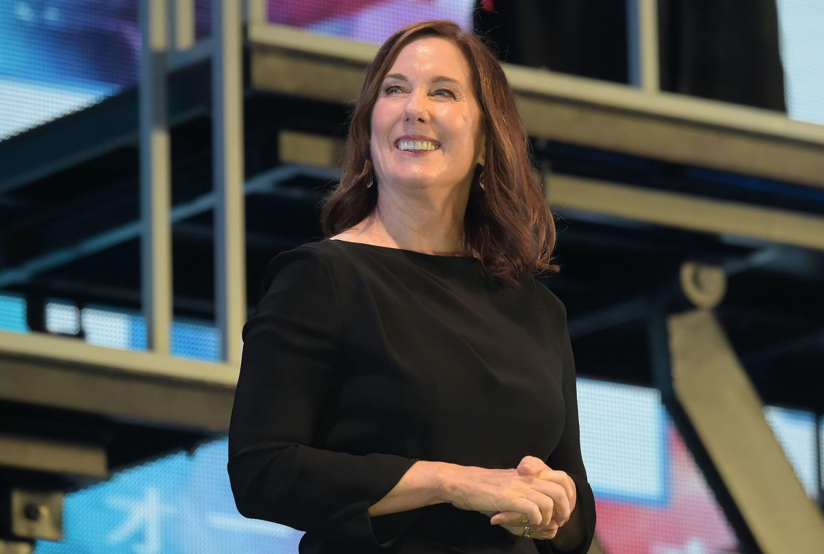 Producer Kathleen Kennedy