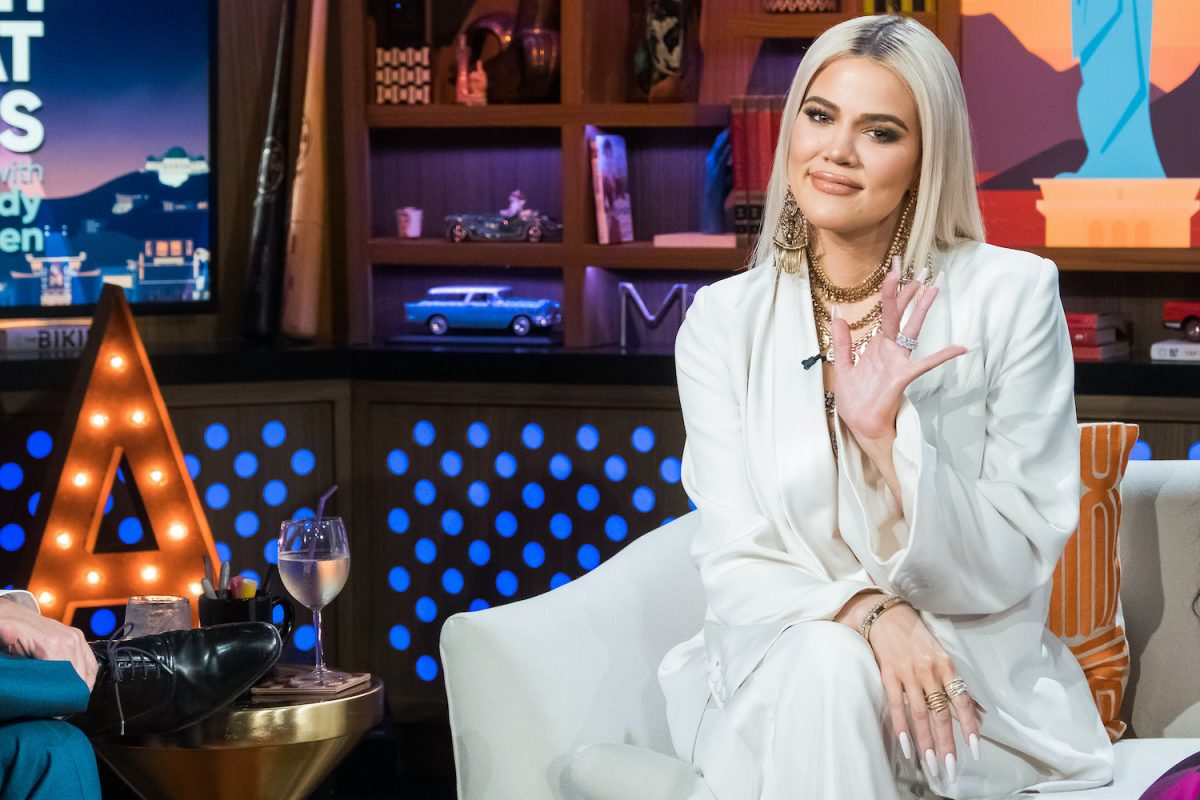 Khloe Kardashian on 'Watch What Happens Live'