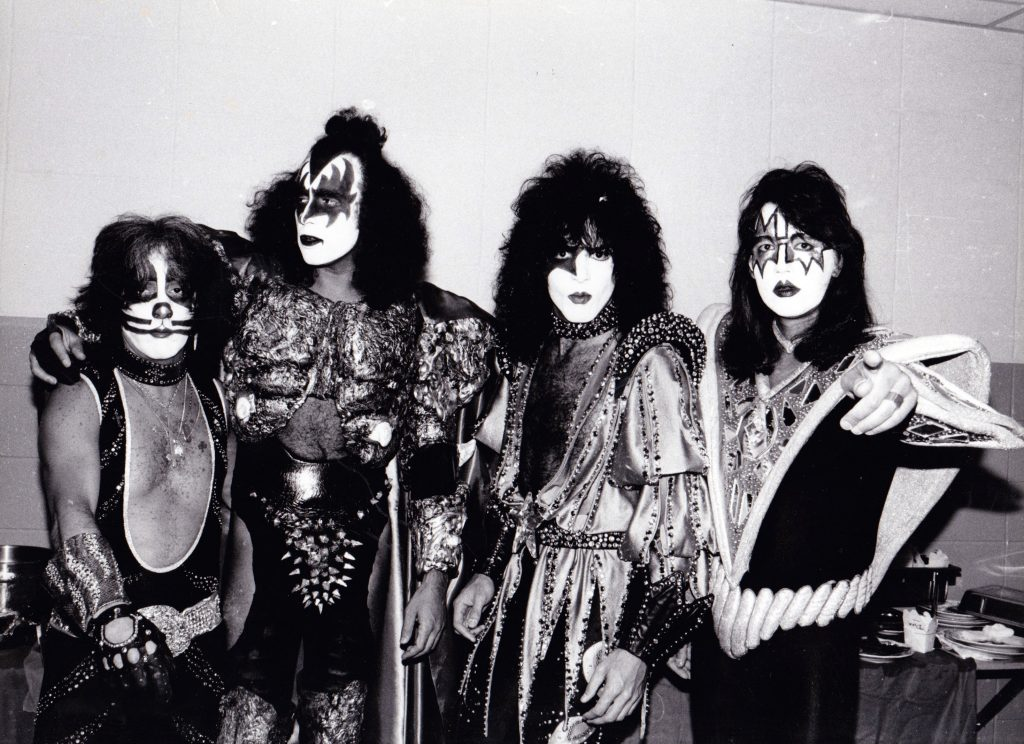 Kiss in their makeup
