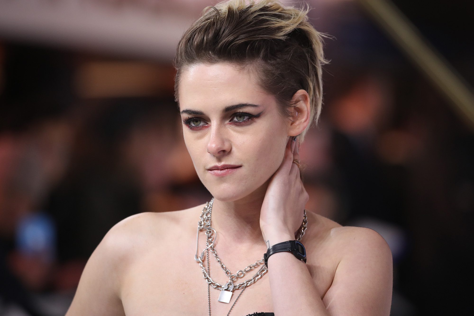 Kristen Stewart at the 'Charlies Angels' UK Premiere at The Curzon Mayfair on Nov. 20, 2019.