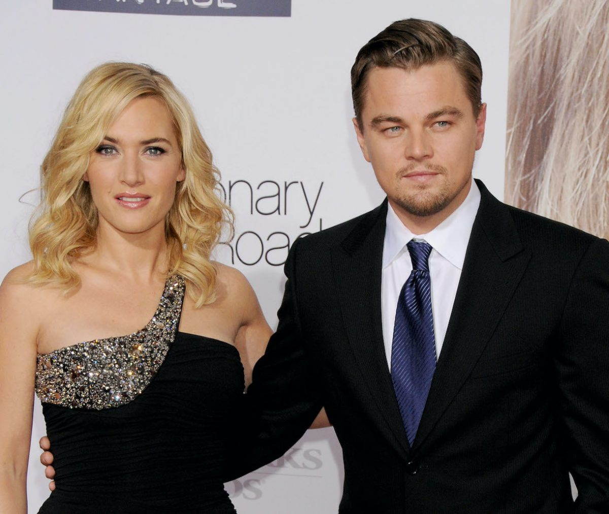 Leonardo DiCaprio and Kate Winslet arrive at the Los Angeles Premiere of 'Revolutionary Road'