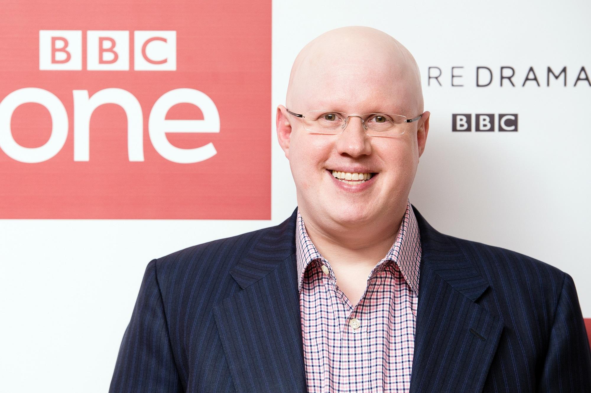 Matt Lucas of The Great British Bake Off