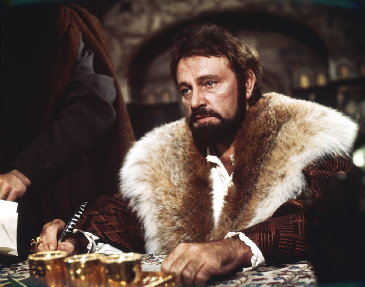 Richard Burton as Henry VIII