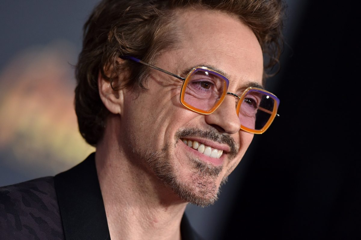 Robert Downey Jr. attends the premiere of Disney and Marvel's 'Avengers: Infinity War' on April 23, 2018 in Hollywood, California.