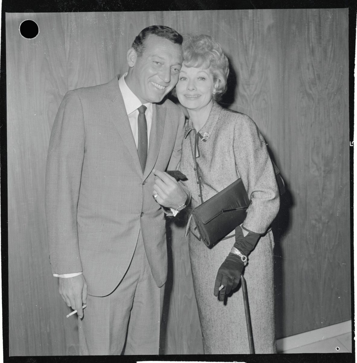 Portrait of Lucille Ball and Gary Morton