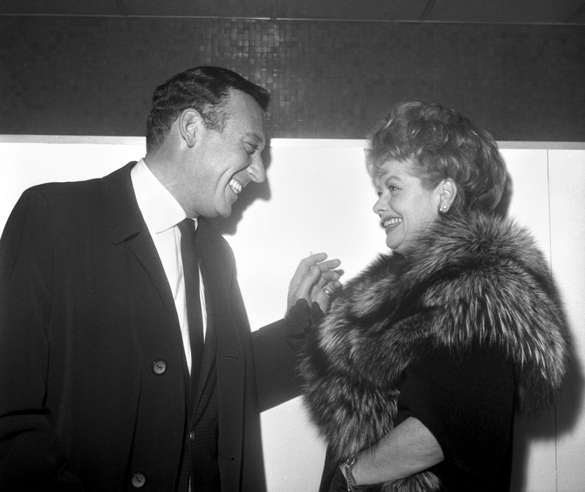 Gary Morton and Lucille Ball