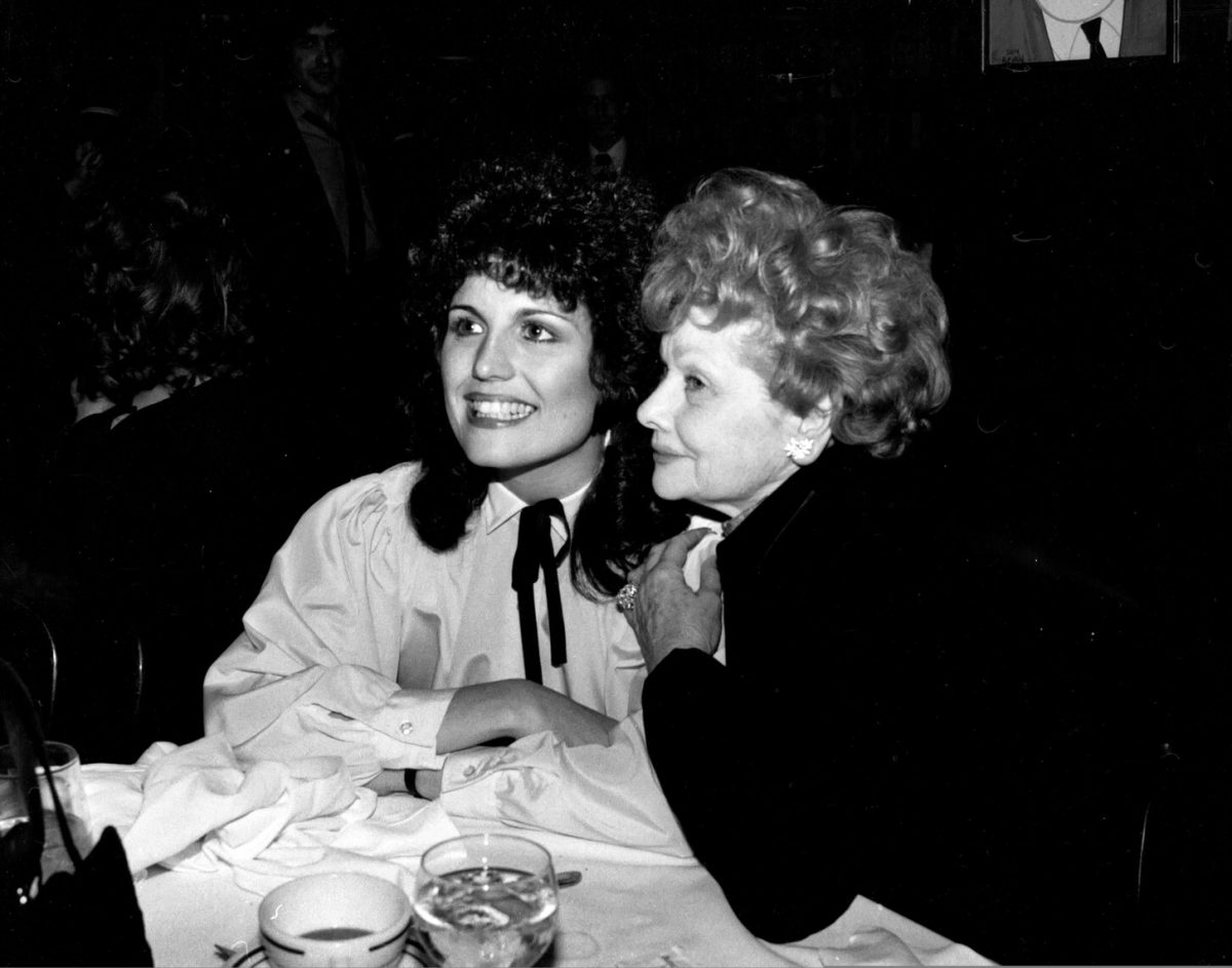 Lucie Arnaz and Lucille Ball