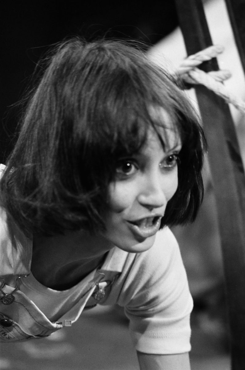 Shelley Duvall as Moonie during the 'Night Of The Moonies' skit