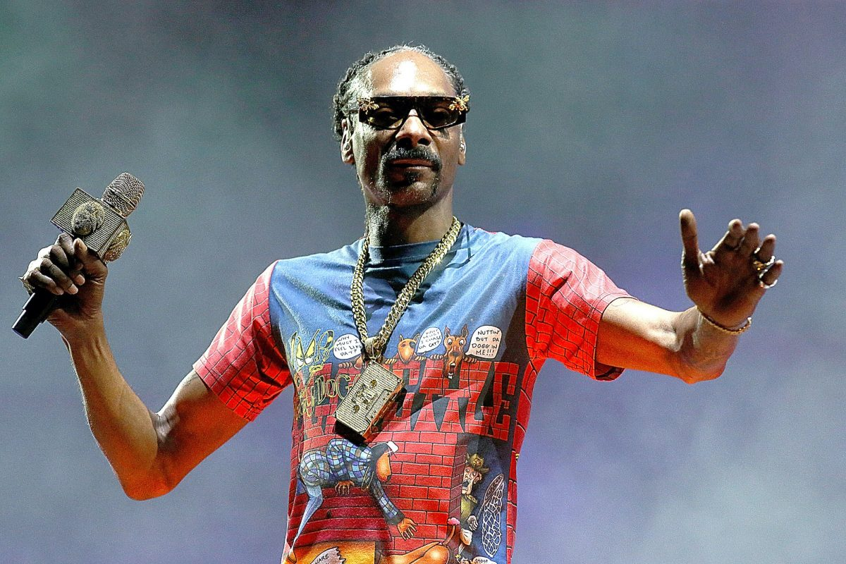 Snoop Dogg performs in concert