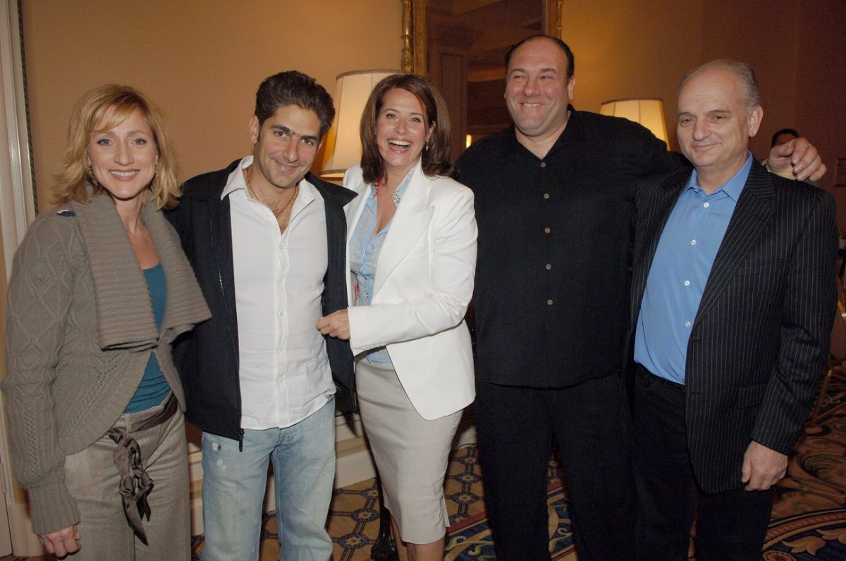 'Sopranos' cast and David Chase