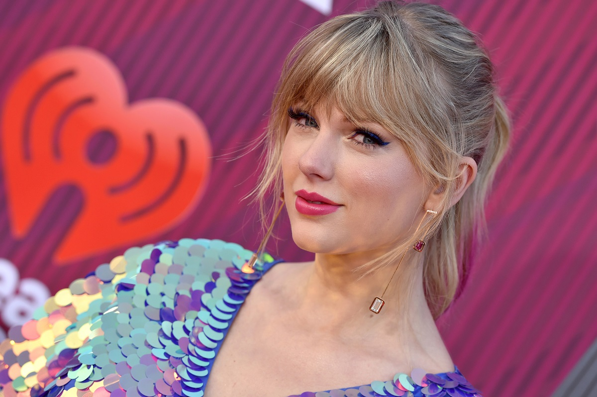 Taylor Swift arrives at the 2019 iHeartRadio Music Awards which broadcasted live on FOX at Microsoft Theater on March 14, 2019 in Los Angeles, California.