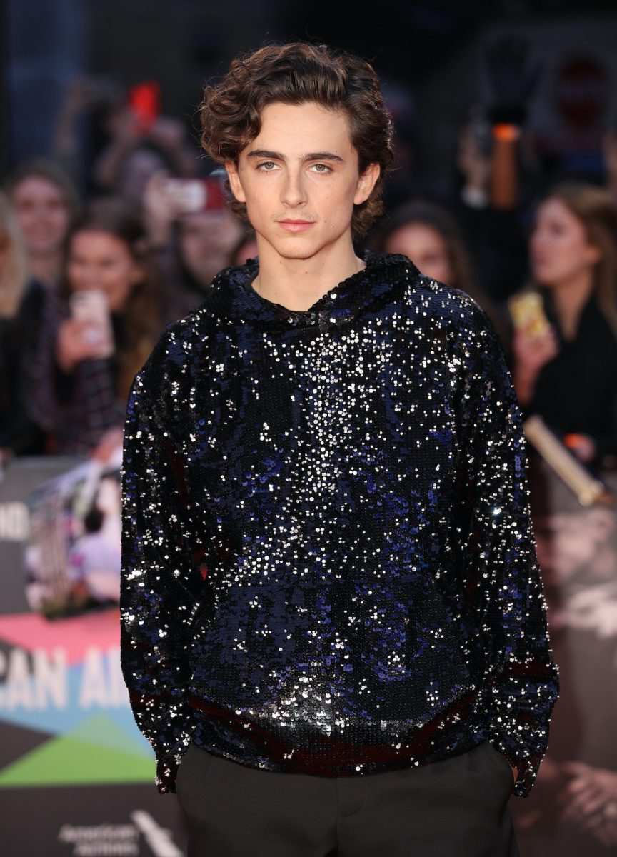 Timothee Chalamet attends 'The King' UK Premiere